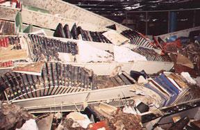 Morgan Library Flood 1997