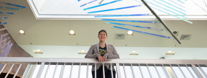 Portrait of Karen Estlund, Dean of Libraries