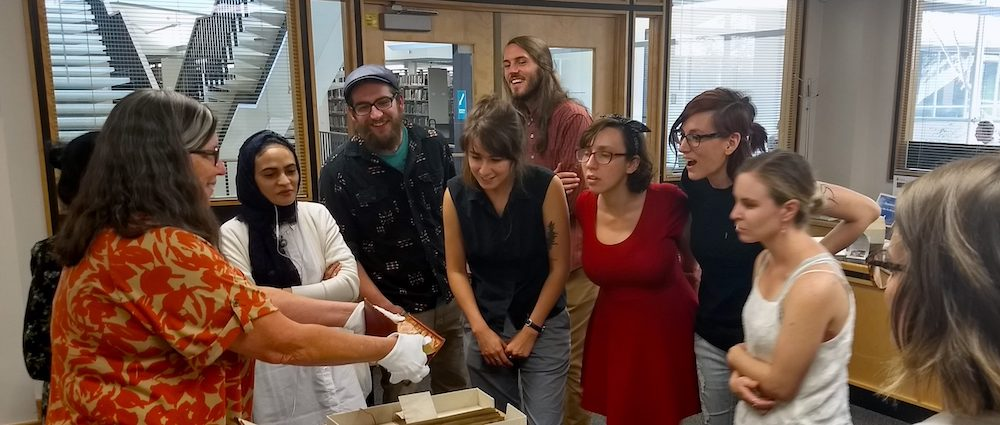 CSU Archives and Special Collections staff and students