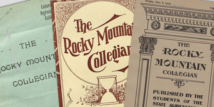 Rocky Mountain Collegian covers