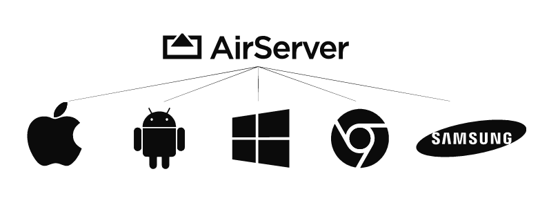 AirServer instruction graphic